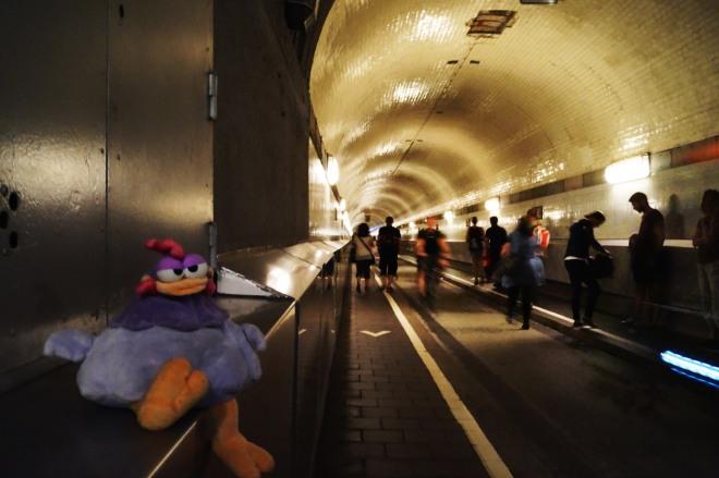 ¡Qué largo es el túnel!