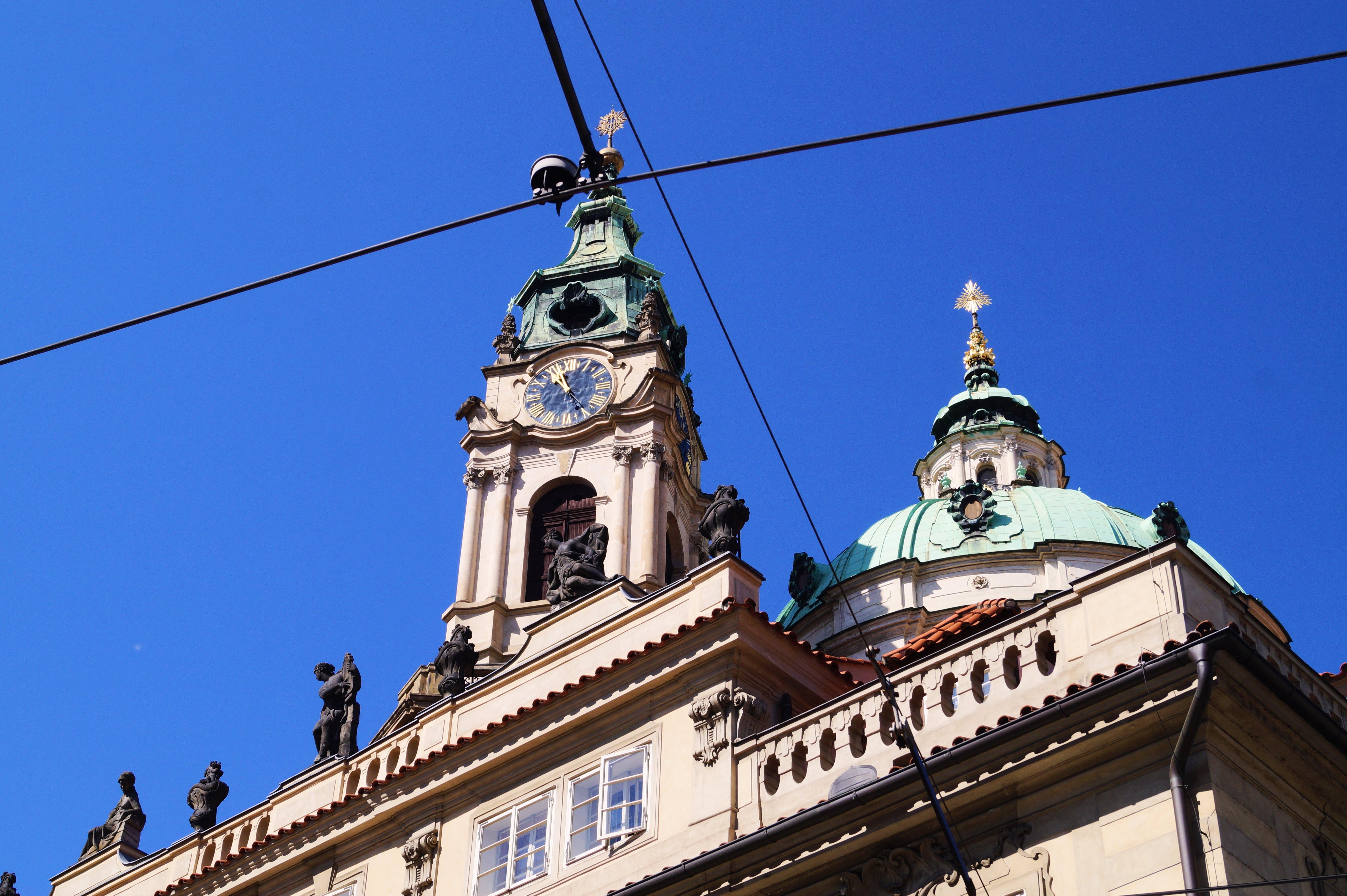 Cúpula de San Nicolás de Mala Strana.