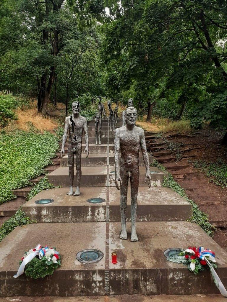 Memorial a las Víctimas del Comunismo, Monte Petrín en Praga.